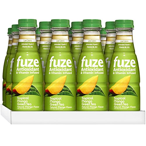 FUZE Green Tea, Tropical Mango, 16.9 Ounce (Pack of (Tropical Antioxidant)