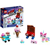 LEGO The LEGO Movie 2 Unikitty's Sweetest Friends EVER! 70822 Pretend Play Food and Friends Building Kit for Girls and Boys, Unikitty LEGO Set, New 2019 (76 Piece)