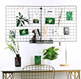 2 Set Mesh Wall Grid Panel Wall Décor Art Display Organizer Picture Frame Dorm Room Essentials