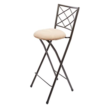 Magnificent Mainstays Cheyenne Diamond X Back Folding 30 In Bar Stool Bralicious Painted Fabric Chair Ideas Braliciousco
