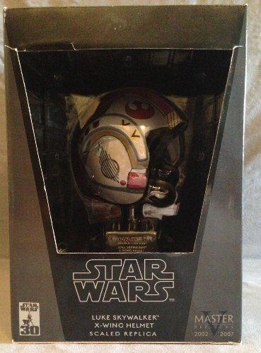 Star Wars X-Wing Pilot Luke Scaled Helmet Replica by Master Replicas (Helmet X-wing Pilot)
