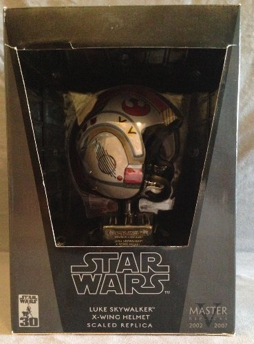 Star Wars X-Wing Pilot Luke Scaled Helmet Replica by Master Replicas ()