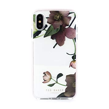 quality design 7abb7 213cd Ted Baker 886075064914 Fashion Scratch Resistant Anti Shock Case for iPhone  X/XS
