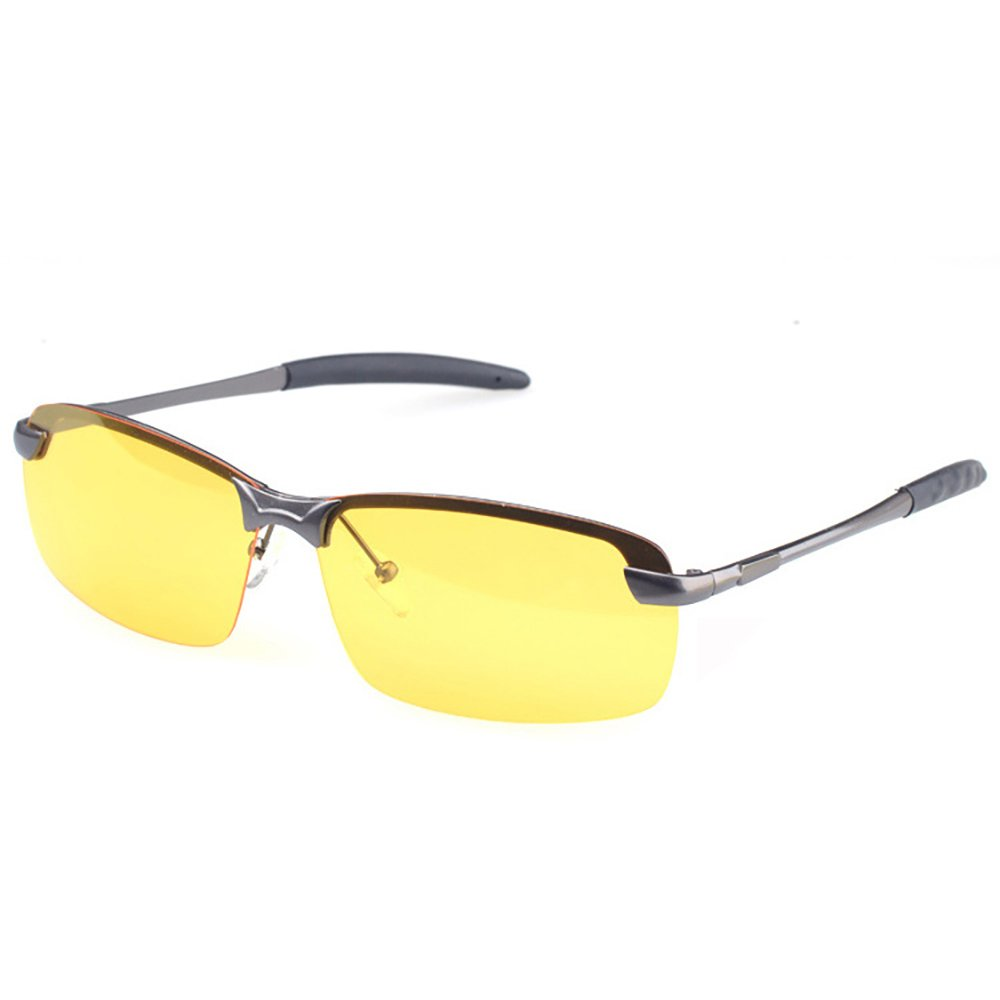 Pingenaneer HD Notturna Visione Sport Occhiali da Sole / Antiriflesso Polarizzati Sunglasses per Notte Guida