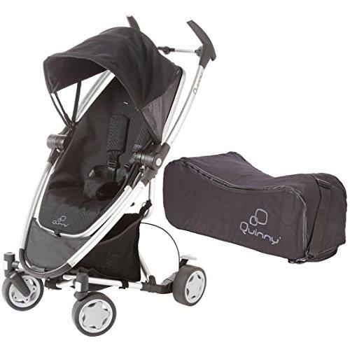 Quinny Zapp Xtra Folding Seat With Travel Bag - Rocking Black