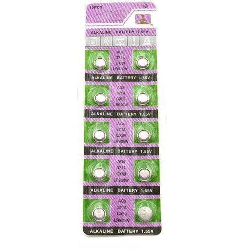 10 371 Alkaline Watch Batteries SR920SW Battery Cell
