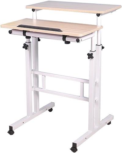 sogesfurniture Height Adjustable Stand up Desk Computer Stand Desk Home Office Desk - a good cheap home office desk