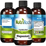 Trace Minerals Magnesium * THE BEST Magnesium Supplement with a Concentrated Dose of 30 PPM of Nano Magnesium - Easy to Swallow with High Absorption