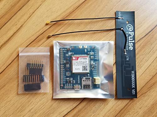 Botletics SIM7000 LTE CAT-M1 NB-IoT Cellular + GPS + Antenna Shield Kit for Arduino (SIM7000A) by Botletics (Image #3)