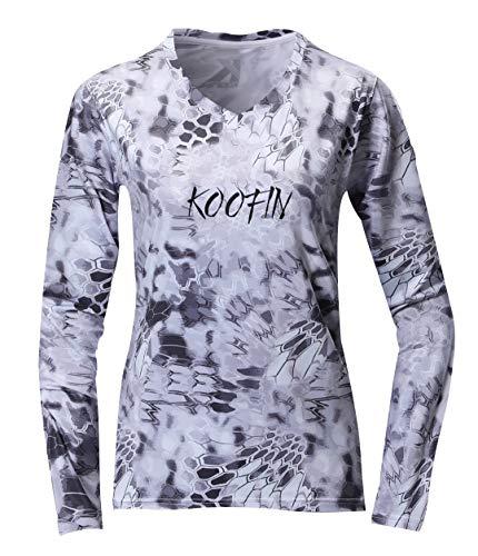 Women Rash Guard Slim Fit Performance Long Sleeve Shirt Fishing Running Training UV Sun Protection UPF50 Swimsuit Top