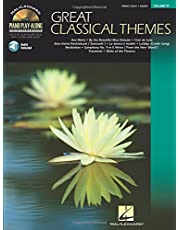 Great Classical Themes: Piano Play-Along Volume 97