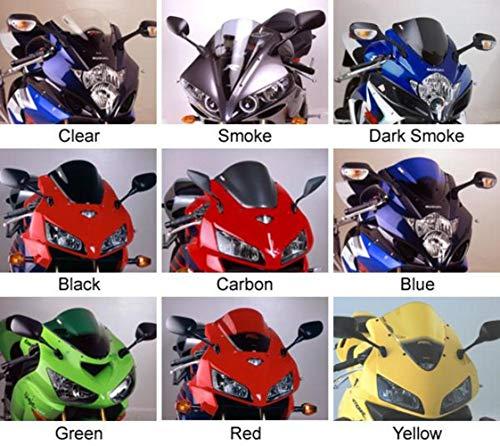 - Puig Racing Windscreen Opaque Black for Kawasaki ZX-6R 05-07