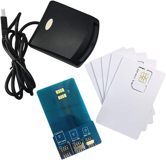 Amazon.com: LTE WCDMA ICCID SIM USIM 4G Secure Card Reader ...