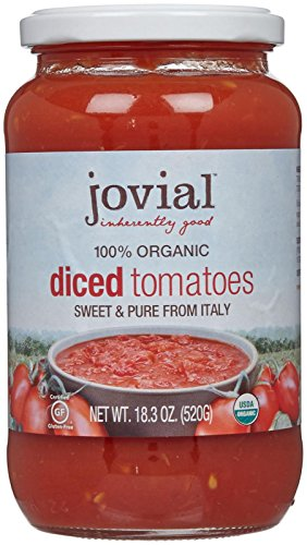 Jovial Organic Diced Tomatoes - 18.3 oz (Diced Tomatoes Jar compare prices)