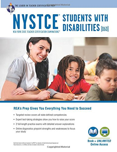 NYSTCE Students with Disabilities (060) Book + Online (NYSTCE Teacher Certification Test Prep)
