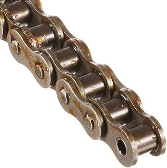 "Morse 50R 50FT Standard Roller Chain, ANSI 50, Riveted, 1 Strand, Steel, 5/8"" Pitch, 0.4"" Roller Diamter, 3/8"" Roller Width, 58000lbs Average Tensile Strength, 50ft Length"