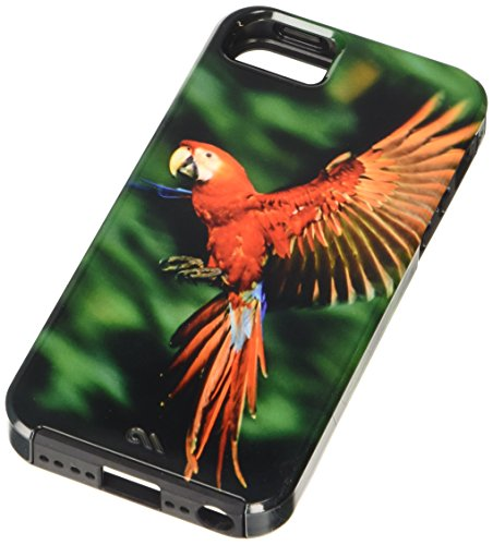 Case-Mate Vibe National Geographic Schutzhülle für iPhone 5, Scarlet Macaw
