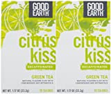 Good Earth Green Tea, Decaffeinated, Lemongrass Flavor, 18 ct, 2 pk