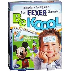 Be Koool Be Koool Soft Gel Sheets For Kids Pack of 1