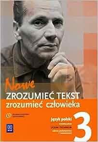 Nowe Zrozumiec tekst zrozumiec czlowieka 3 Jezyk polski