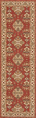 Momeni Rugs PERGAPG-01SAL2680 Persian Garden Collection, 100% New Zealand Wool Traditional Area Rug, 2'6