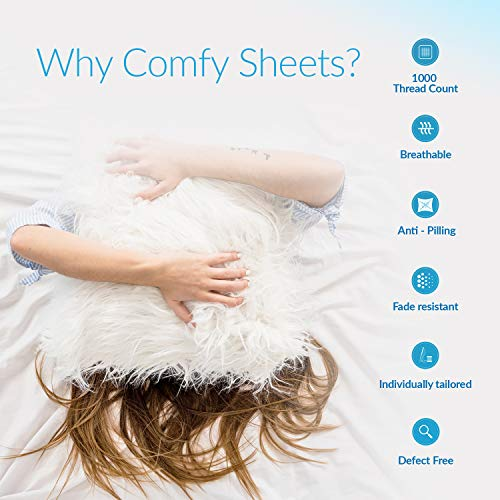 Comfy Sheets 1000 Thread 100% Egyptian Cotton Sheets