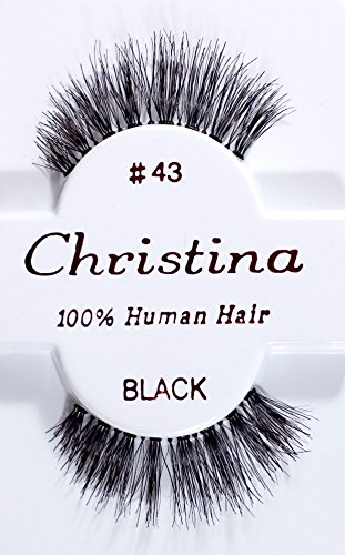 Christina Eyelashes 60packs #43 by Christian by Christian Brand