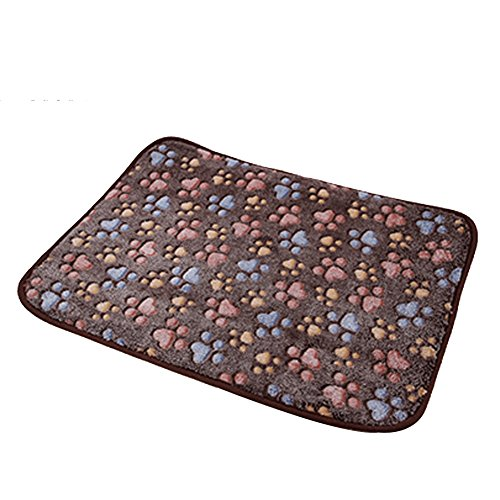 Pet Dog Mat,Pet Dog Reversible Blanket,Cat Puppy Chilly Ice Cooler Summer Sleeping Bed Pad,Kennels House Hole Cave Nest for Pets Doghouse for Small Medium Large Dogs Cushion Crate Mat Pillow Beds Bamboo Dog Cat Bed