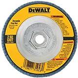 DEWALT DW8312 4-1/2-Inch by 5/8-Inch -11 60 Grit Zirconia Angle Grinder Flap Disc
