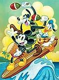 Disney Fine Art Surf Trio Puzzle - 1000 Pieces