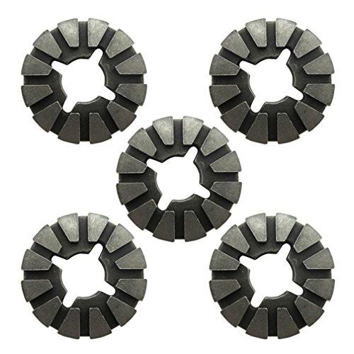 Harpow 5 pieces Hole pattern blade adaptor,power oscillating tool blades,multitool blades,power tool saw blades,fits Fein Bosch Craftsman Rockwell Einhell Westfalia Ferm Pro-Line Matrix tools