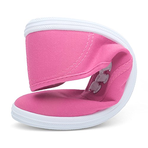 Womens F pink CIOR Canvas classic Round Sneakers tote Shoes RwdwCxq