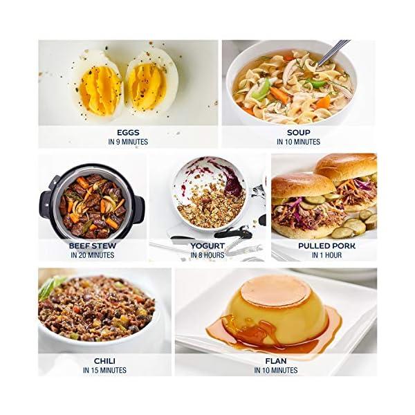 Zavor LUX LCD 6 Quart Programmable Electric Multi-Cooker: Pressure Cooker, Slow Cooker, Rice Cooker, Yogurt Maker… 5