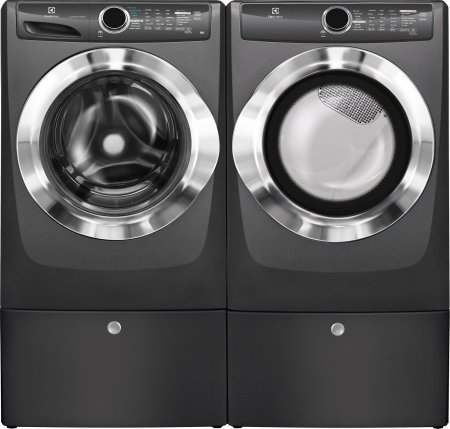 Electrolux Titanium Front Load Laundry Pair with EFLS517S...