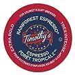 Timothy's World Coffee Rainforest Espresso, 24 ct K-Cups, 2 pk