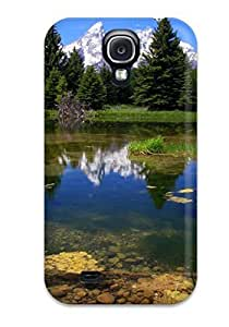 Galaxy Cover Case - Earth Lake Protective Case Compatibel With Galaxy S4