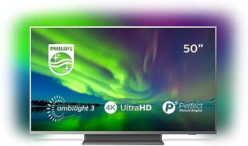 Televisor Philips 50PUS7504/12, 50 pulgadas: Philips: Amazon.es ...