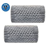 HQRP 2-pack Refrigerator Air Filter for Frigidaire GLHS66EJ GLHS68EJ GLHS69EH GLHS69EJ PHS68EJS PHS69EHS PHS69EJS PHSB67EHS PHSB67EJS Side-By-Side series + HQRP Coaster