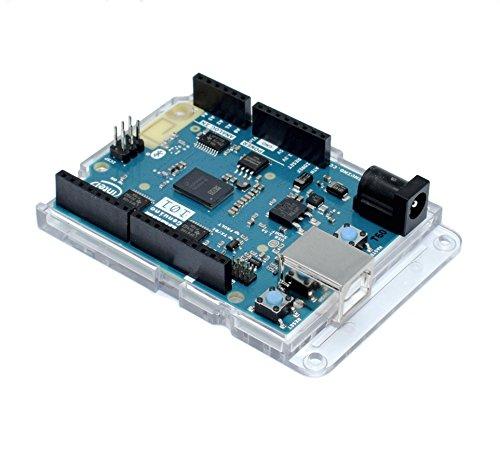 Premium Transparent Bumper Case for Arduino UNO, Leonardo, Zero, M0, Ethernet, Genuino and All UNO Form Boards Rohs Compliant