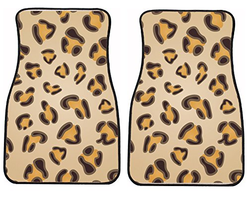 Style in Print Leopard Print Auto Vehicle Car Mat Front S...