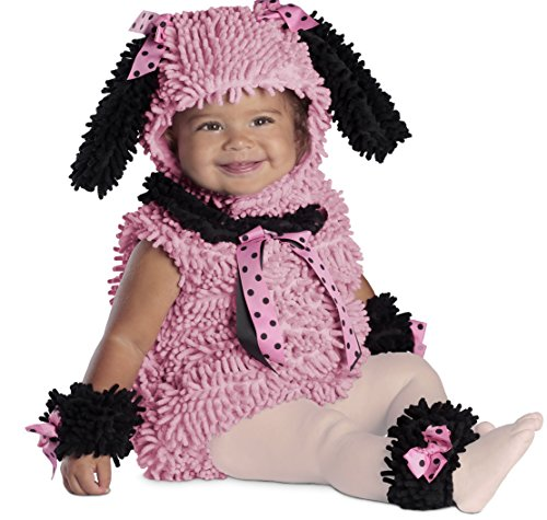 Princess Paradise Baby Girls' Pinkie Poodle Deluxe Costume, Pink, (2017 Toddler Girl Halloween Costumes)
