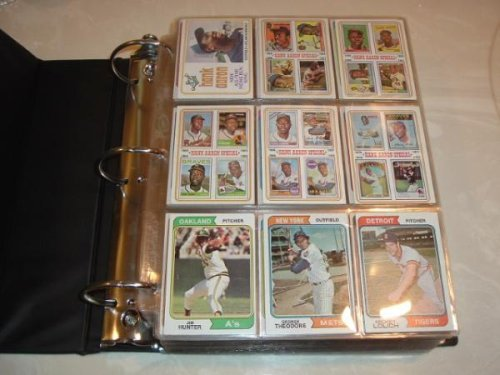 1974 Topps Baseball Card Complete Baseball Card SET (660) Plus 44 Card Traded Vgex / Ex