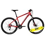 Btwin Rockrider 540 Mountain Terrain Bike(Red_Medium)