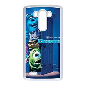 LG G3 Cell Phone Case White Monsters Inc typo phone covers vgfj7078636