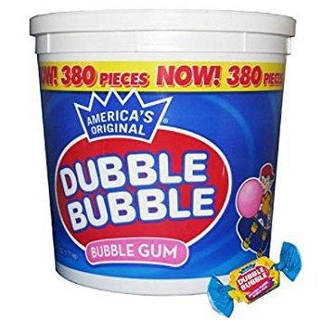Dubble Bubble - Assorted Flavors, Tub (380 Count) ()