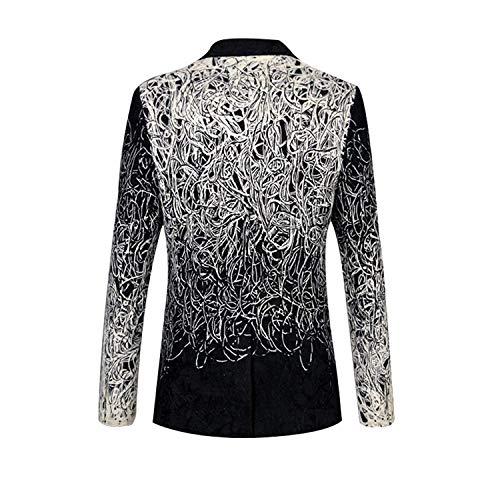 Brodé Moderne Jacket Party Tuxedo White Smokings Cut Vêtements Lannister Costume Couleur Gradient Hommes Fashion xHFqwRtZnY