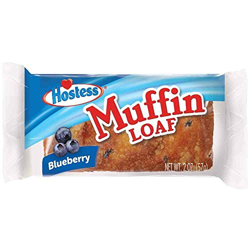 Hostess Blueberry Muffin Loaf, 2 Ounce -- 140 per case.