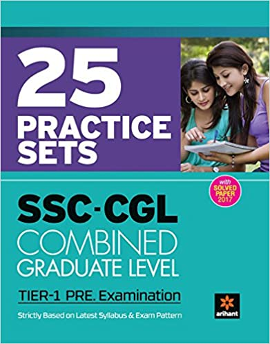 SSC CGL Practice Sets Pre Exam Tier I 2018 - by Arihant Experts
