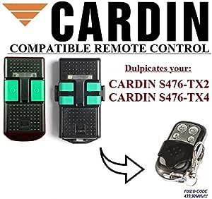 CLONE 433,92Mhz CARDIN S476-TX4 compatible remote control CARDIN S476-TX2