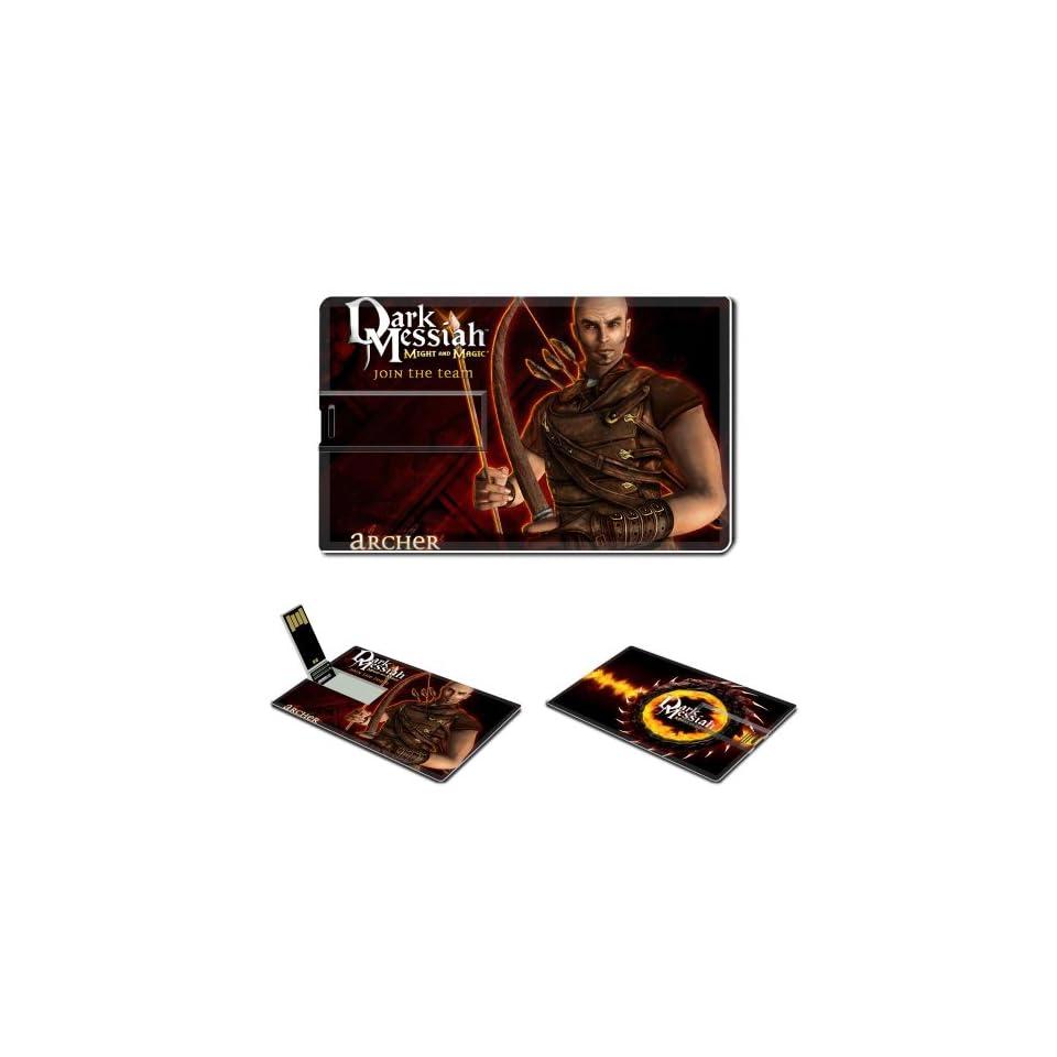 Dark Messiah Of Might And Magic Anime Comic Game ACG Customized USB Flash Drive 8GB